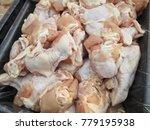 raw chicken legs | Shutterstock . vector #779195938