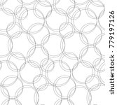 gray intersecting circles... | Shutterstock .eps vector #779197126