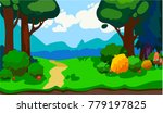 game horizontal forest...