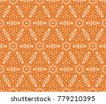 bright seamless decorative... | Shutterstock . vector #779210395