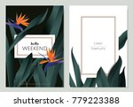 greeting invitation card... | Shutterstock .eps vector #779223388