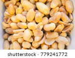 close up of fired peanut for... | Shutterstock . vector #779241772