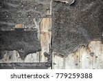 close up of old damaged wooden... | Shutterstock . vector #779259388
