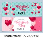 valentines day sale  discont... | Shutterstock .eps vector #779270542