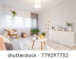 pillows  frames  candles and... | Shutterstock . vector #779297752