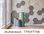 close up of ceramic containers  ... | Shutterstock . vector #779297758