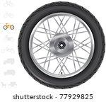 Motorbike Wheels.  The Series...