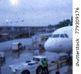 Small photo of Flying out in foul weather.
