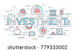 investment  strategy  profit ... | Shutterstock .eps vector #779333002