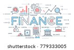 finance  investment  analytics  ...   Shutterstock .eps vector #779333005