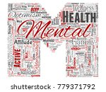 vector conceptual mental health ... | Shutterstock .eps vector #779371792