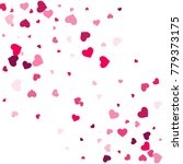 heart confetti beautifully... | Shutterstock .eps vector #779373175