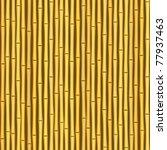 Vintage Bamboo Wall Seamless...