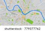 vector map city | Shutterstock .eps vector #779377762