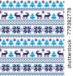 new year's christmas pattern... | Shutterstock .eps vector #779382778