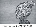brain model concept made from... | Shutterstock . vector #779420182