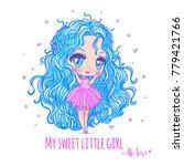 cute vector illustration.... | Shutterstock .eps vector #779421766