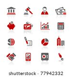 Business   Finance Web Icons    ...