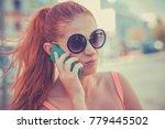 Angry Woman Phone Talking....