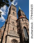 nuremberg is the second largest ... | Shutterstock . vector #779445655