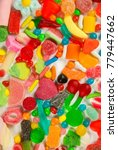 a large collection of sweets... | Shutterstock . vector #779447662