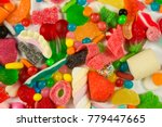 Collection Of Sweets And Candy