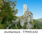 m rchenschlo  lichtenstein   a... | Shutterstock . vector #779451142