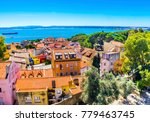 colorful houses narrow streets... | Shutterstock . vector #779463745
