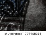 usa flag vintage background | Shutterstock . vector #779468395