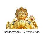 big golden statue of buddha
