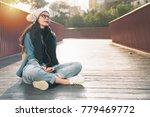 beautiful young asia woman... | Shutterstock . vector #779469772