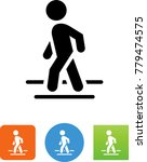crossing sign icon | Shutterstock .eps vector #779474575