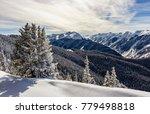 aspen highland mountains | Shutterstock . vector #779498818