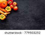 healthy food. fresh vegetables... | Shutterstock . vector #779503252