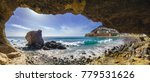 natural rock grotto on the... | Shutterstock . vector #779531626