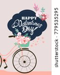valentines day card | Shutterstock .eps vector #779535295