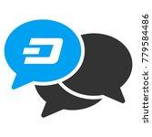 dash webinar vector pictograph. ... | Shutterstock .eps vector #779584486