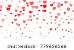 heart halftone valentine s day... | Shutterstock . vector #779636266
