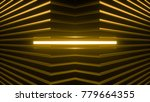 geometric background made of...   Shutterstock . vector #779664355
