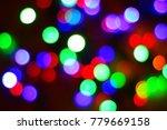 beautiful multi colored round... | Shutterstock . vector #779669158