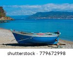 boat on the beach | Shutterstock . vector #779672998