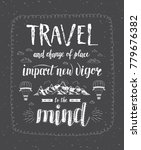 travel. vector hand drawn... | Shutterstock . vector #779676382