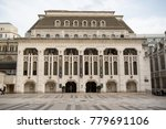 London, United Kingdom - October 30th, 2017:- The Guildhall Art Gallery located next to the City of London guildhall - stock photo