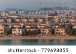 villas on the artificial island ... | Shutterstock . vector #779698855