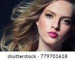 beautiful hair woman beauty... | Shutterstock . vector #779701618