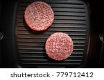 teflon coating in a frying pan... | Shutterstock . vector #779712412