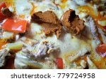 yellow curry paste in a... | Shutterstock . vector #779724958