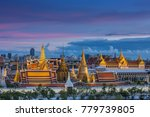 wat phra keaw and grand palace ...   Shutterstock . vector #779739805