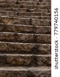 ancient stairs in stone old...   Shutterstock . vector #779740156