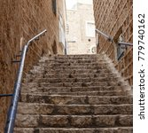 ancient stairs in stone old...   Shutterstock . vector #779740162